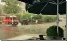 Ураганные ветры и грозы в Германии прервали трансляцию матчей ЧМ-2006