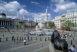 Трафальгарскую площадь украсит живая скульптура