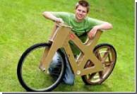 Британский студент создал первый в мире велосипед из картона