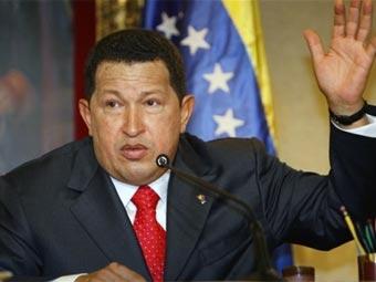 Чавес отозвал закон об обязательной помощи спецслужбам