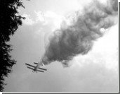 В Подмосковье упал самолет