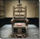 Убийцу казнили на электрическом стуле