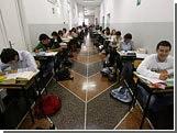 школьники сдавали экзамены по тестам с массой ошибок