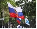 В Одессе 300-летие победы в Полтавской битве отпраздновали под российским и Андреевским флагами