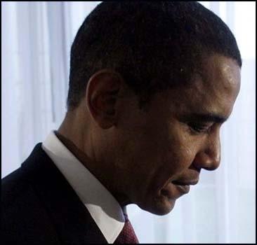 """Рейтинг Обамы упал """"ниже плинтуса"""""""