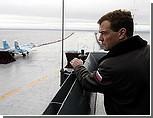 Украинские СМИ: Медведев из угловатого скромника превращается в грубоватого мачо