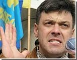 """""""Ну что, Юлька, помогли тебе твои Медведы?"""" - митинг Тягнибока в Киеве"""
