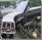 В метро катастрофа! Столкнулись два поезда. Фото