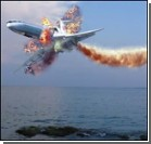 Французский авиалайнер развалился еще в воздухе