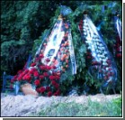 Романа Герман похоронили на Байковом кладбище. Фото