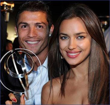Роналду послал за любимой самолет, чтобы она прилетела на матчи Евро-2012