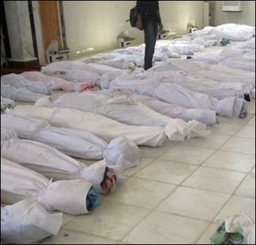 Кровавую бойню в Сирии организовали боевики
