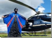 Каскадер Гари Коннери успешно приземляется без парашюта с высоты 730 метров