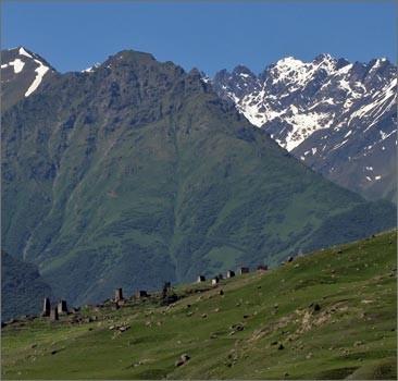 В горах Северной Осетии пропали украинские туристы