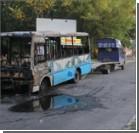 В Херсоне пассажиры на ходу выскакивали из маршрутки-факела. ФОТО