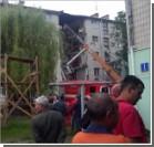 Жители разрушенного дома в Луцке перекрыли движение