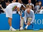 Теннисист Налбандян дисквалифицирован за нанесение травмы судье
