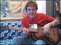 Гитара Маккартни продана за 330 тыс. фунтов