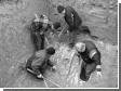 На Ровенщине раскопали древнюю могилу