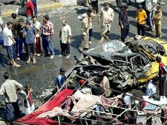 Грузовик на багдадском рынке взорвала неизвестная суннитская группировка
