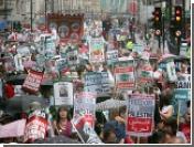 В Лондоне около 7 тысяч человек провели демонстрацию против бомбардировок Ливана