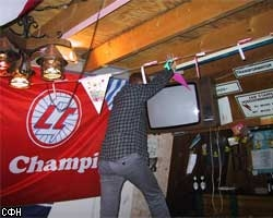 Футбольный фанат спас из огня телевизор, чтобы досмотреть матч
