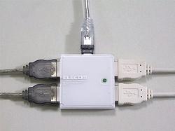 Elecom U2H-MN4B - самый миниатюрный USB-хаб?
