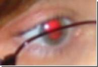 Красные глаза используют для возрастного ценза