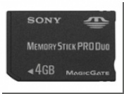 "Memory Stick Pro Duo ""дорастает"" до 4 Гб"