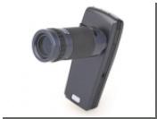 Создан первый сменный внешний объектив для камерофонов Nokia
