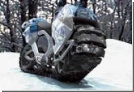 Немцы придумали гусеничный мотоцикл