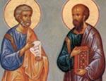 Сегодня - День святых апостолов Петра и Павла
