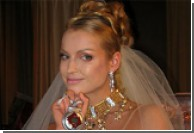 На собственную свадьбу Волочкова  прилетела на воздушном шаре