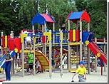 К концу года в Харькове построят 70 детских площадок