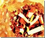 Россия заняла третье место в мире по количеству выкуриваемых сигарет