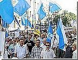 У администрации Януковича требовали ветировать пенсионную реформу и не вмешиваться в дела профсоюзов
