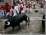 В забеге с быками в Испании пострадали пять человек