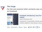 Facebook позволит откладывать чтение постов на потом