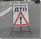 Под Киевом КАМаЗ столкнулся с автобусом