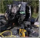 Трое украинцев погибло при лобовом столкновении с российским авто в Беларуси. ФОТО