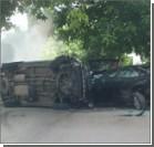 В Одессе угонщик с беременной женщиной разбил пять машин. ФОТО