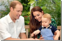Принцу Джорджу на первый день рождения подарили велосипед