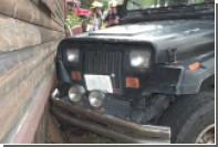 Трехлетний мальчик за рулем внедорожника попал в ДТП