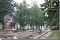 Памятник Ленину в Кузбассе признали радиоактивным