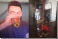 Участника экстремальной онлайн-игры наказали за попытку съесть золотых рыбок