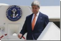Керри отправился в Израиль на самолете американских ВВС