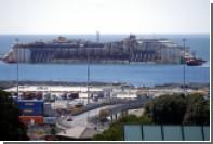 Costa Concordia доставили в порт Генуи