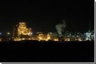 В Ливии ракета зажгла резервуар с нефтепродукатми