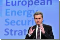 Еврокомиссар счел ненужными санкции на поставки нефти и газа из России