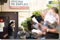 Безработица в Испании опустилась ниже 25 процентов впервые за два года